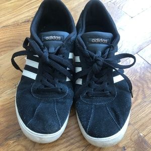 Black Suede Adidas Sneakers